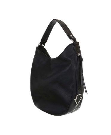 Dudlin Firenze černá velká shopper kabelka 2235-14 ta2235-14-black