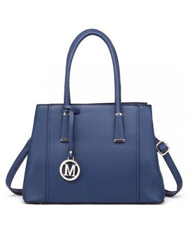 Miss Lulu námořnicky modrá kabelka MULTI-COMPARTMENT 1748 LT1748_NY