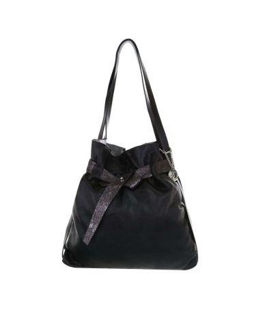 Micussi černá shopper kabelka 3620-11 TA-3620-11-black