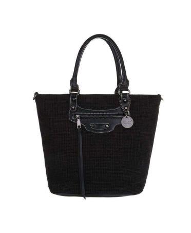Micussi černá velká shopper kabelka 5320-114 TA-5320-114-black