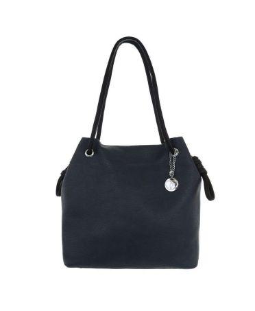 Micussi modrá shopper kabelka 7535-74 TA-7535-74-BE