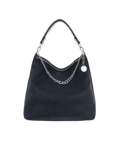 Micussi modrá kabelka přes rameno CHAINS 7535-76 TA-7535-76-BE