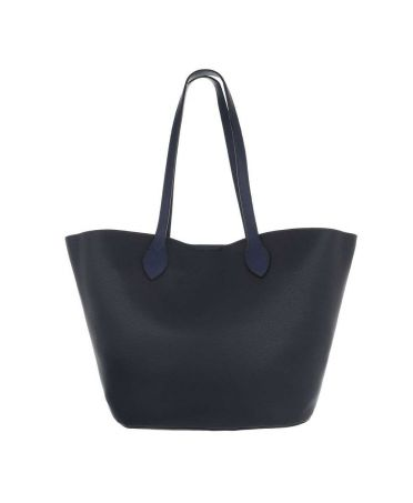 Dudlin Firenze modrá shopper kabelka 2835-210 ta2835-210-be