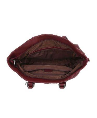 Micussi šedá kabelka přes rameno LONGITUDINAL AND TEXTURE 3820-134 TA-3820-134-GY