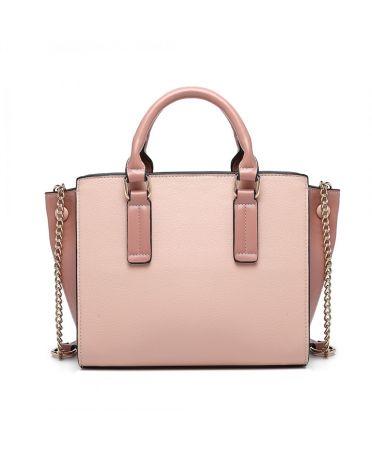 Miss Lulu růžová kabelka BUTTON WINGS 1975 LG1975_PK
