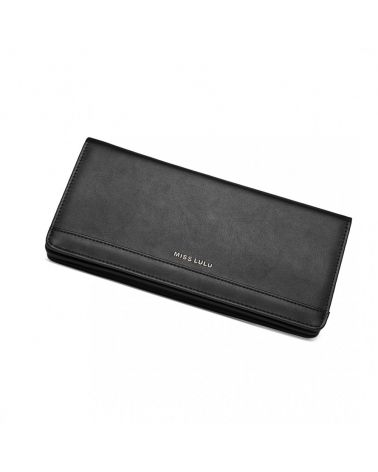 Miss Lulu černá kabelka PHONE CROSSBODY 6909 LP6909_BK