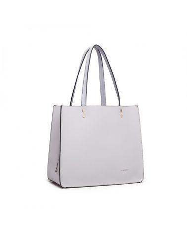 Miss Lulu světle šedý kabelkový set 1969 LB1969_GY