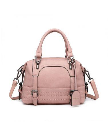 Miss Lulu růžová kabelka přes rameno 6902 LB6902_PK