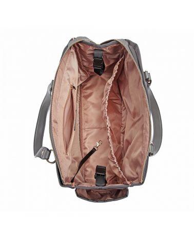 Miss lulu sada mateřských tašek šedá 6852 LT6852_GY