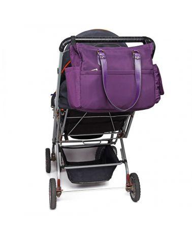 Miss lulu sada mateřských tašek fialová 6852 LT6852_PE