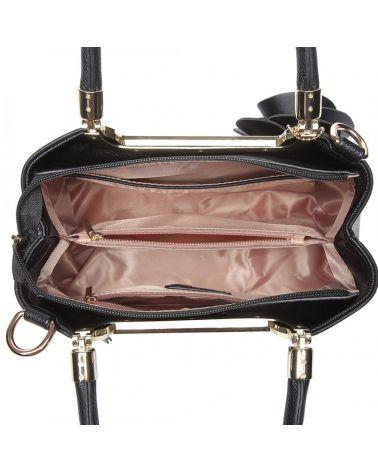 Miss Lulu kabelka černá ROSE HANGING ORNAMENT 1847 LG1847_BK