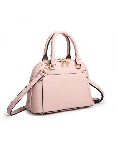 Miss Lulu růžová kabelka CLASSIC BOWLER 6922 LT6922_PK
