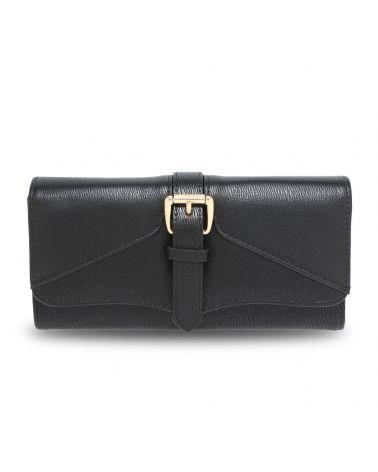 Anna Grace dámská černá peněženka s přezkou 1042 AGP1042A_BLACK