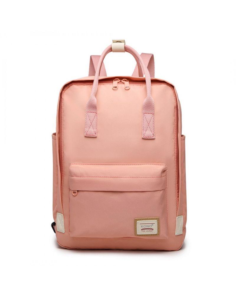 Kono růžový batoh s kapsou na notebook 2017 EB2017_PK