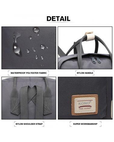 Kono tmavě šedý batoh s kapsou na notebook 2017 EB2017_GY
