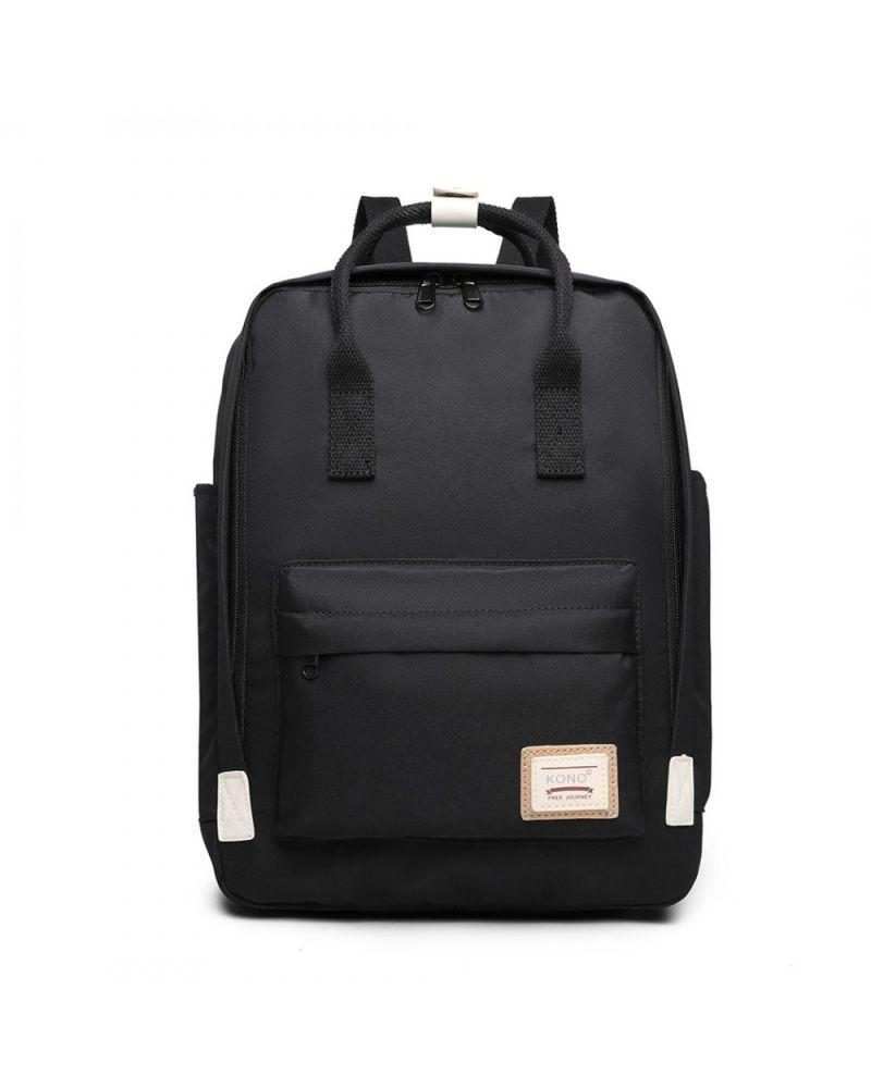 Kono černý batoh s kapsou na notebook 2017 EB2017_BK