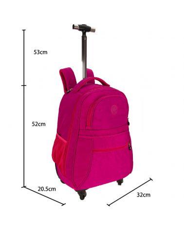 Anna Grace dámská cestovní taška 1023 - fialová AGT1023_FUCHSIA