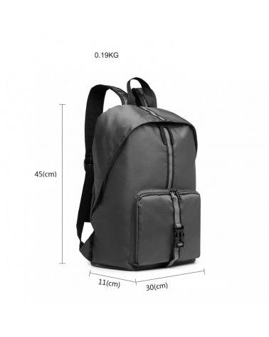 Kono skládací batoh unisex lehký šedý 6906 E6906_GY
