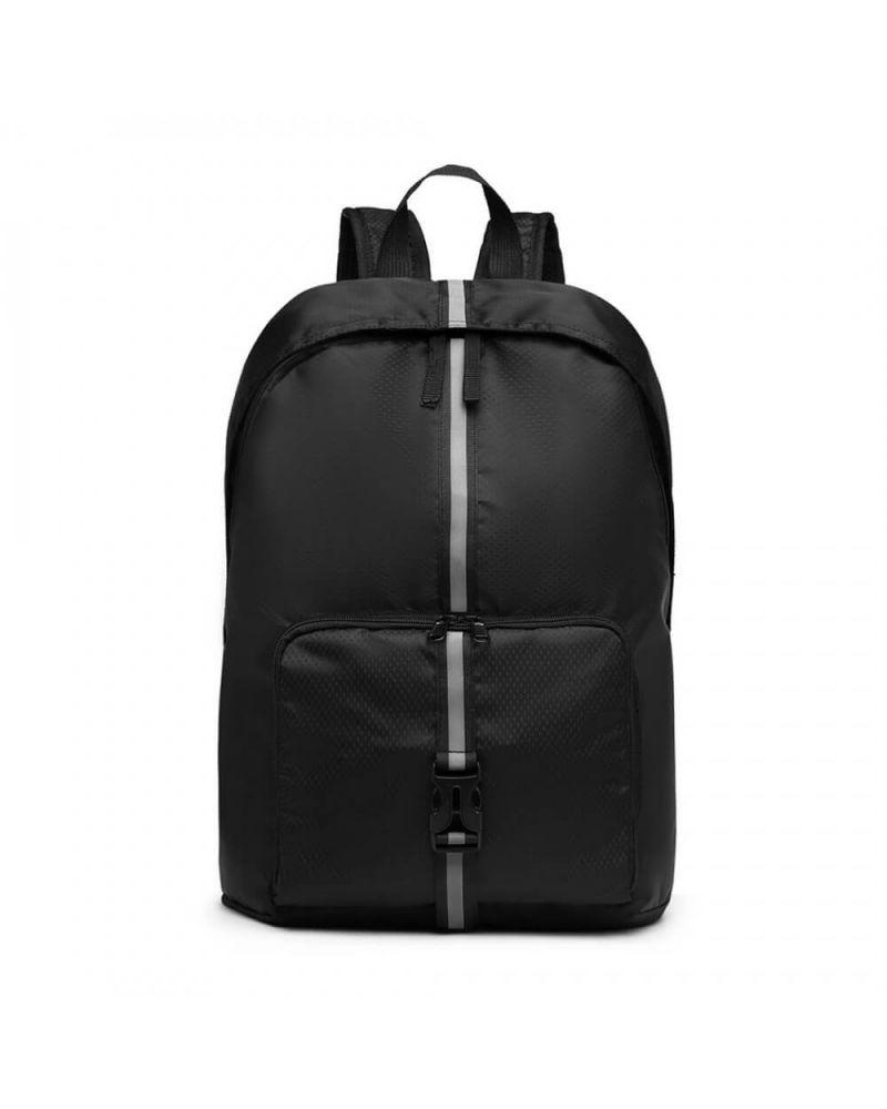 Kono skládací batoh unisex lehký černý 6906 E6906_BK