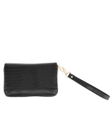 Anna Grace dámská peněženka s poutkem malá černá 1088 AGP1088_BK