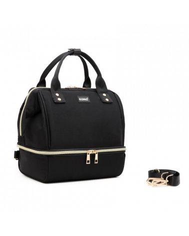 Kono multifunkční černá dámská taška 2024 EQ2024_BK