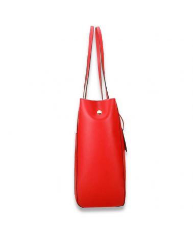 Anna Grace vínová shopper kabelka přes rameno 760 AG00760_BY