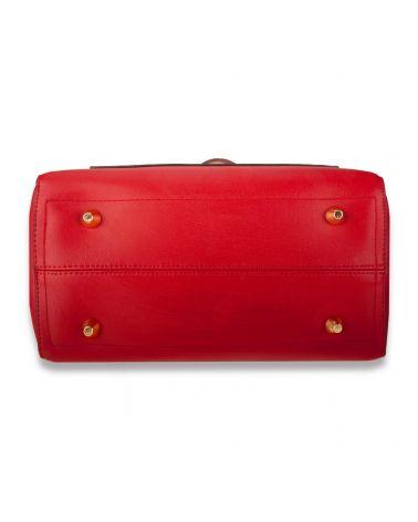 Anna Grace červená shopper kabelka přes rameno 760 AG00760_BY