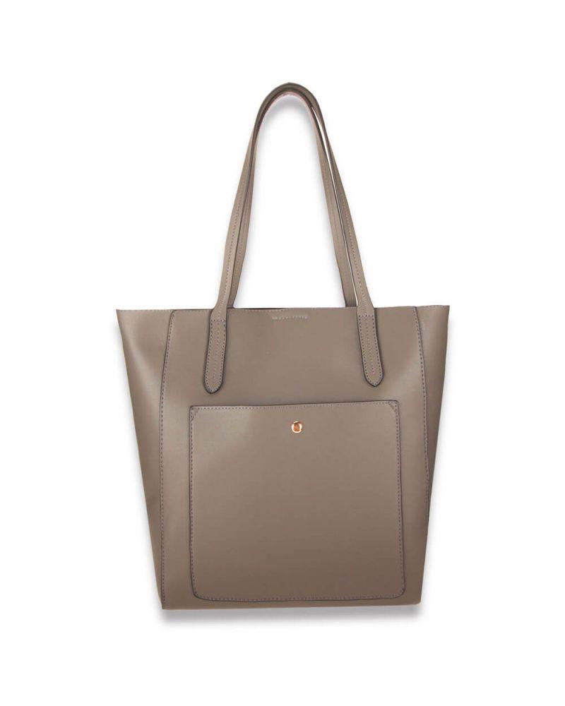 Anna Grace šedá shopper kabelka přes rameno 760 AG00760_GY