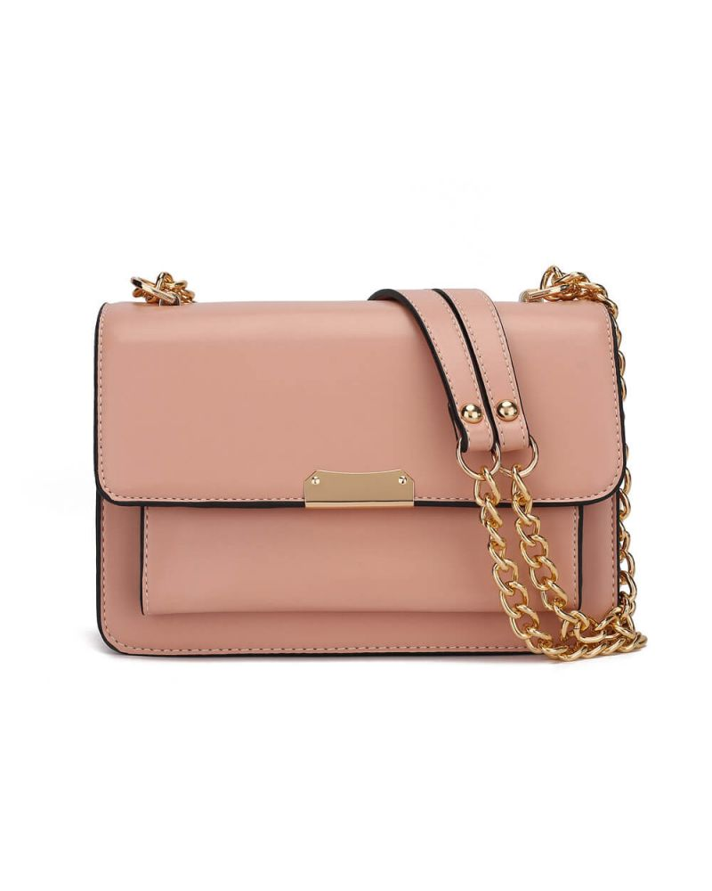 Anna Grace růžová kabelka crossbody 772 AG00772_PK