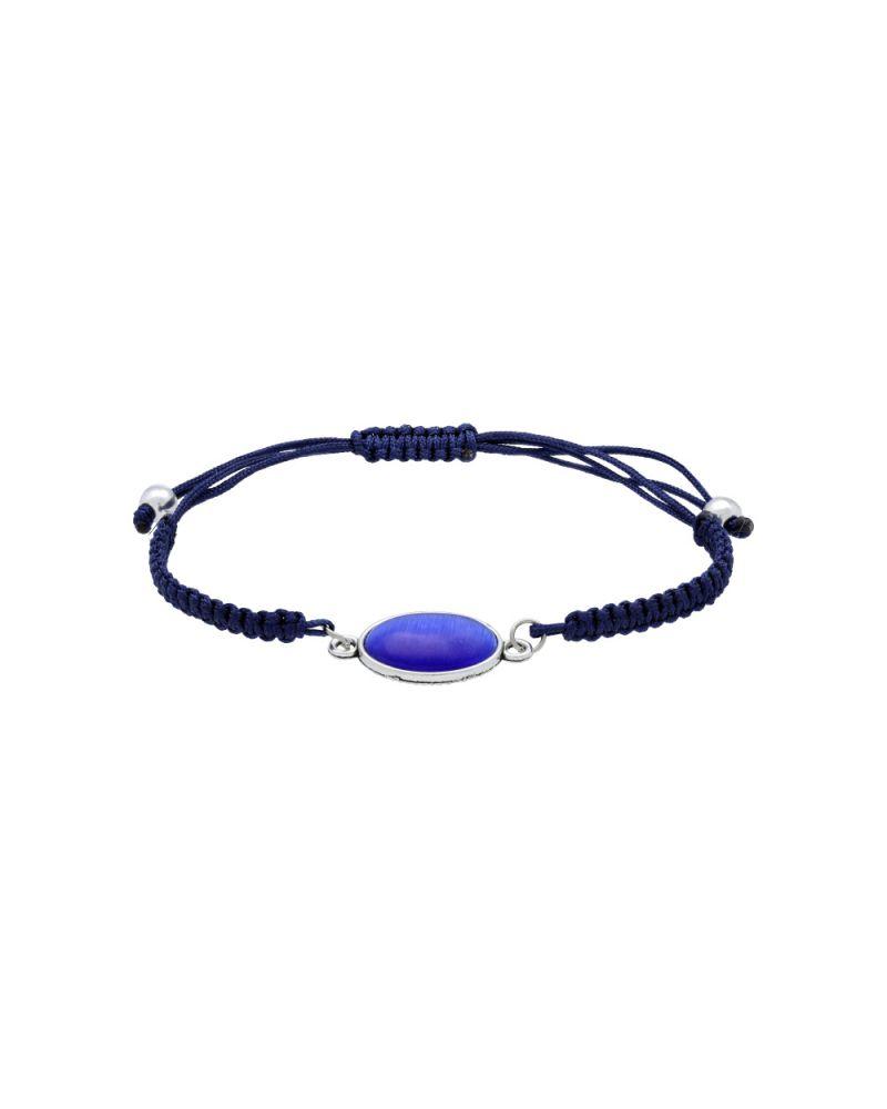 Gilles Costa dámský náramek modrý STONE 107 GC107_be