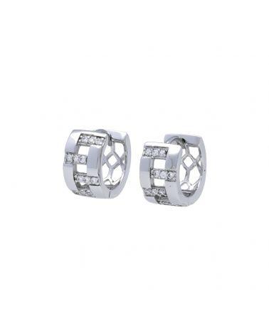 Dámské ocelové kruhové náušnice 1067669 1067669_SI