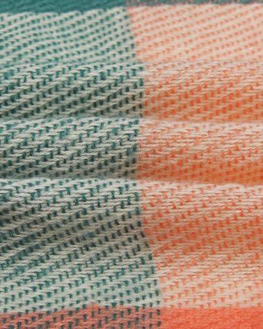 Miss Lulu vícebarevná zelená teplá maxi šála 6430 S6430_GN