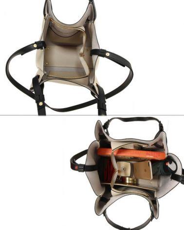 Anna Grace kabelkový set ve světle béžové barvě 666 AG00666_BEIGE