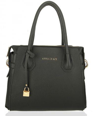 Anna Grace černá kabelka přes rameno 750 AG00750_BLACK