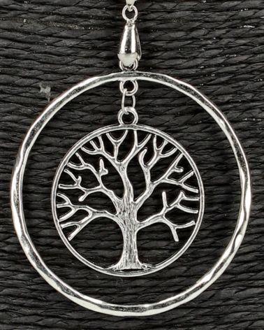 Gilles Costa dámský náhrdelník RING TREE 146 GC146_SI