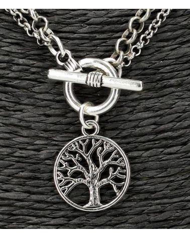 Gilles Costa dámský náhrdelník TREE 131 GC131_SI