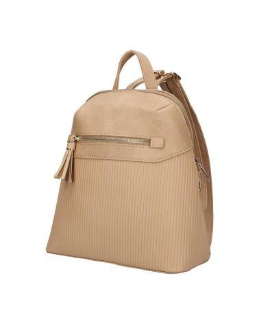 Dámský béžový městský batoh AM PARKER TAUPE 065 AM0065_TE