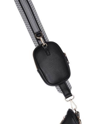 Kabelka crossbody YEH BAG SYMPHONY BLACK 510450 Y0510450-001_BK