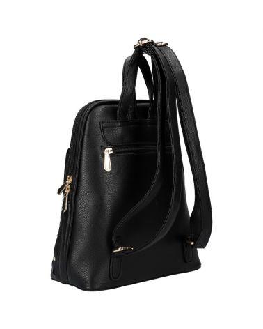 Dámský černý městský batoh PERFORATED DESIGN 109 AM0109_BK