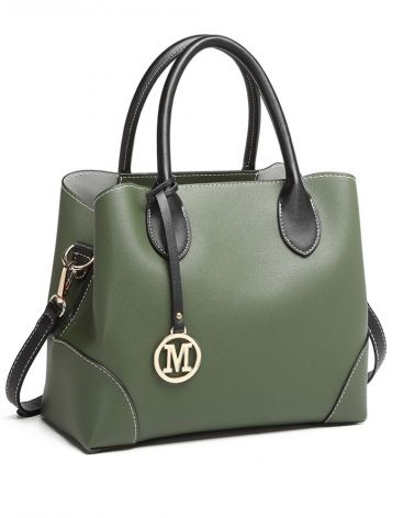 Miss Lulu zelená kabelka přes rameno 1973 LG1973_GN