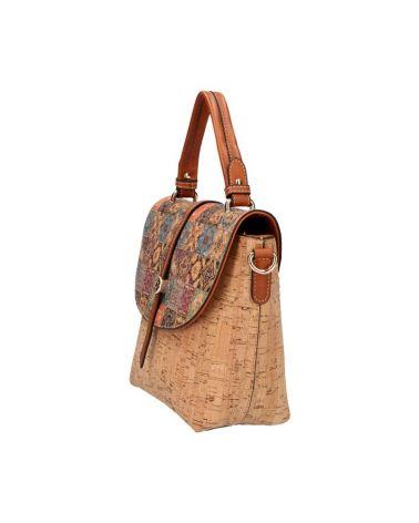 Korková kabelka do ruky i přes rameno AM CORK EILA 3 83519 KR835-3_BN