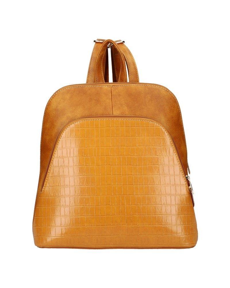 Dámský městský batoh AM DUO YELLOW 106 AM0106_YW