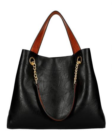 Am Montreux SET shopper kabelka CHAIN BLACK 9265 9265_BK