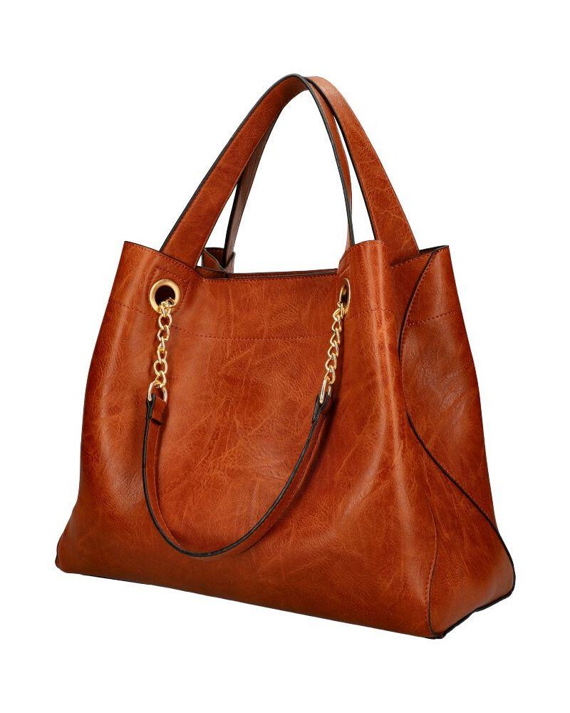 Am Montreux SET shopper kabelka CHAIN BROWN 9265 9265_BN