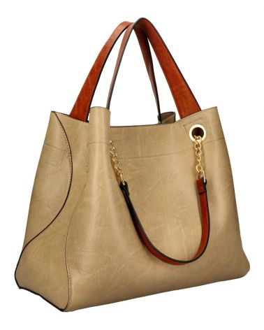 Am Montreux shopper kabelka CHAIN TAUPE 9265 9265_TE