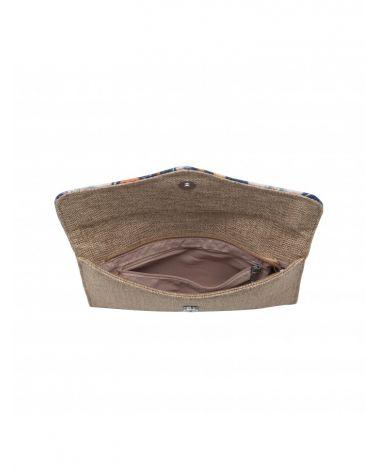 Valentina Madrid multifunkční béžová kabelka - pouzdro 28016NY VM28016_NY