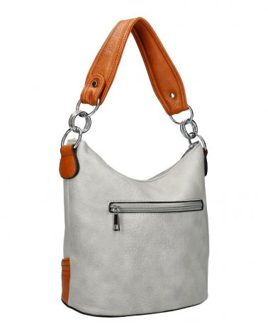 Am Montreux hobo kabelka DUO TASSEL GREY 6173 6173_GY