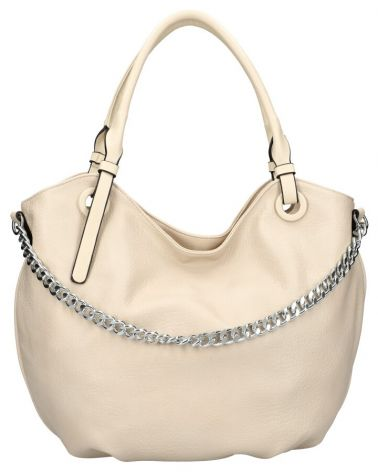 Am Montreux kabelka shopper SILVER CHAIN APRICOT 6301 6301_AT