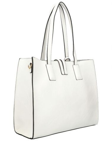 Am Montreux SET kabelka CLASSIC SQUARE WHITE 9282 9282_WE