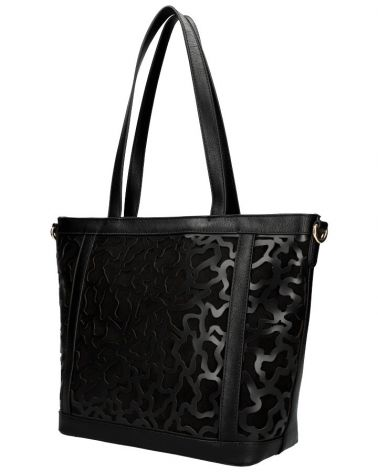 Am Montreux shopper kabelka LASER CUT BLACK 136 AM0136_BK